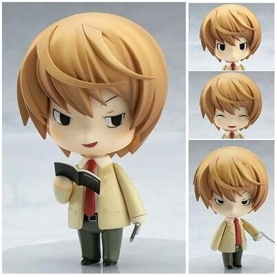 10CM Nendoroid Death Note Yagami Light #12 Q Version Boxed PVC Action Figure Model Collection Toy