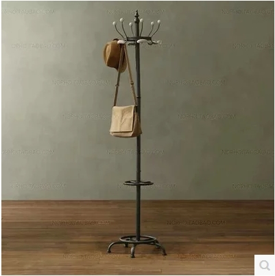 Online shop american french country vintage clothing store racks ...