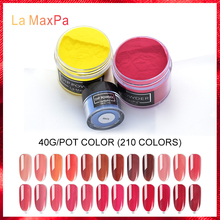 LaMaxPa dipping powder nail system Professional Salon Use French Dip Kit Acrylic Nail Fast Drying nail glitter powder  Nail art 2018 pro full acrylic glitter powder glue french nail art brush kit set