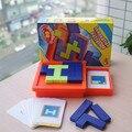 Tangram Головоломки Игрушки настольные игры для детей juguetes educativos пластиковые старинные психические развивающие игрушки для детей логические