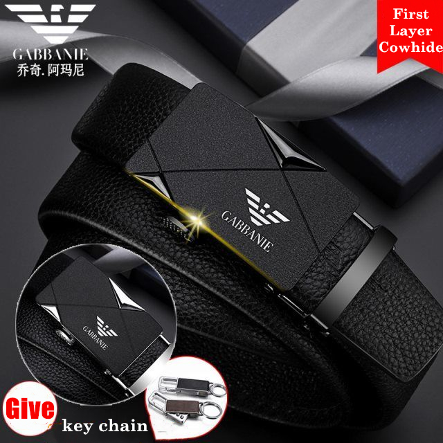 Famous Brand   Belt   Men Top Quality Genuine Luxury Leather   Belts   for Men, Strap Male Metal Automatic Buckle Set