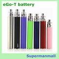 3 unids eGo T batería Cigarrillo Electrónico Recargable Ego T 650 Mah/900 mah/1100 Mah Ego vaporizador 510 en forma de Hilo ego CE4 CE5 mt3