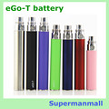 3pcs eGo T battery Rechargeable Electronic Cigarette Ego T 650Mah/900mah/1100Mah Ego vaporizer 510 Thread fit ego CE4 CE5 mt3