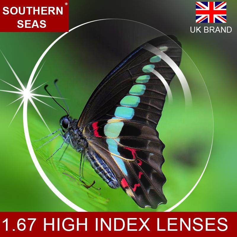 1 67 High Index Ultra Thin Lenses 0 5 to 6 0 Premium Lens Treatment Prescription