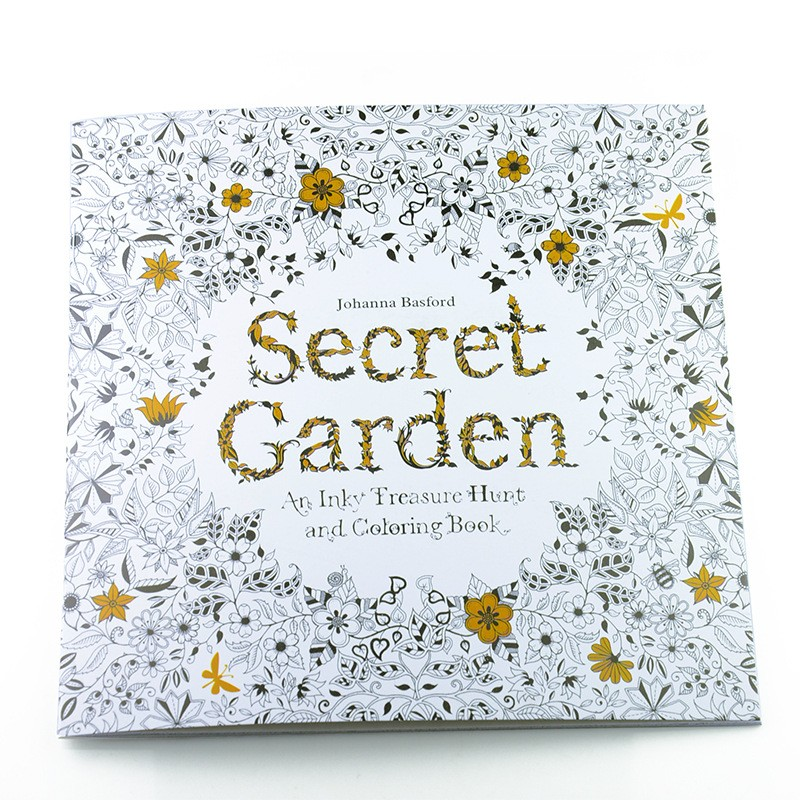 4PCS LOT 24 Pages Secret Garden Fantasy Dream Enchanted Forest Animal Kingdom Coloring Book Adult Relieve Stress Painting In Books From Office School