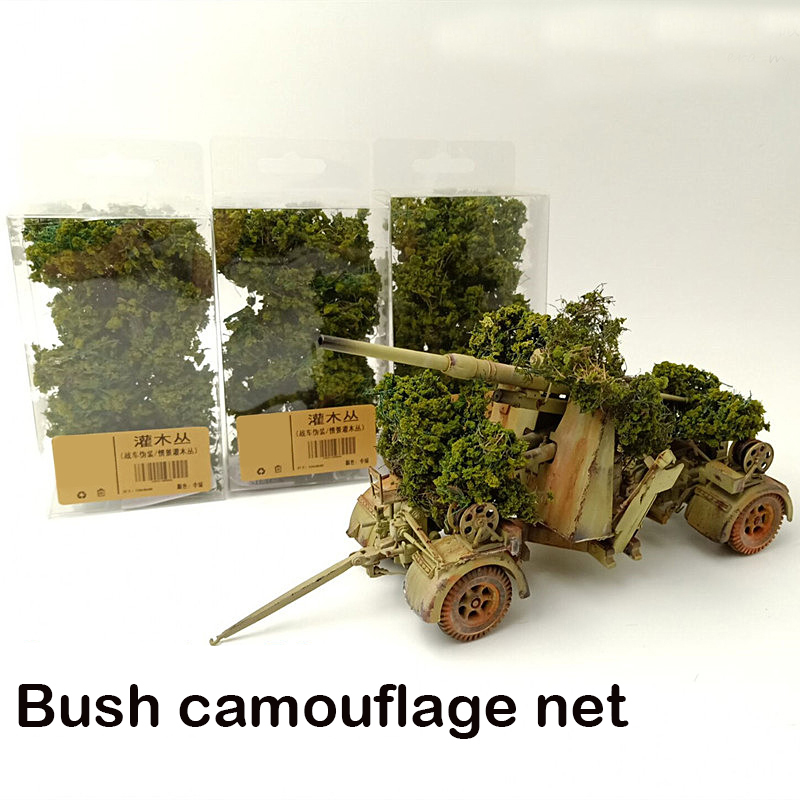 Simulation Tree Camouflage Network Of Combat Vehicles Miniature Model Vegetation  Situational Sand Table Making Diy Material