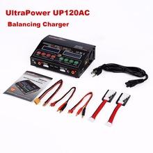 Lipo Battery Charger UltraPower UP120AC DUO Balancing Charger Charging  LiPo LiIon LiFe NiCd For RC Quadcopter