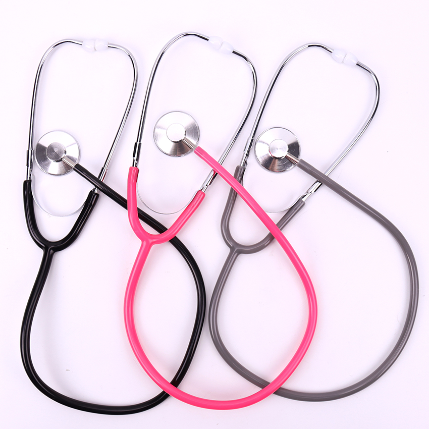 1PC Portable Stethoscope Aid Single Side EMT Clinical Stethoscope Portable Medical Stethoscope Medical Equipment Tool 1