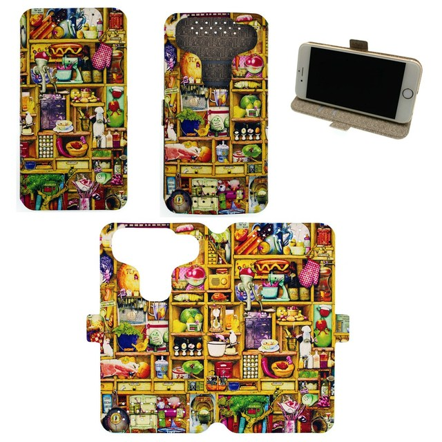 Universal Phone Cover Case for Zte N9519 Warp 7 Case Custom images CF