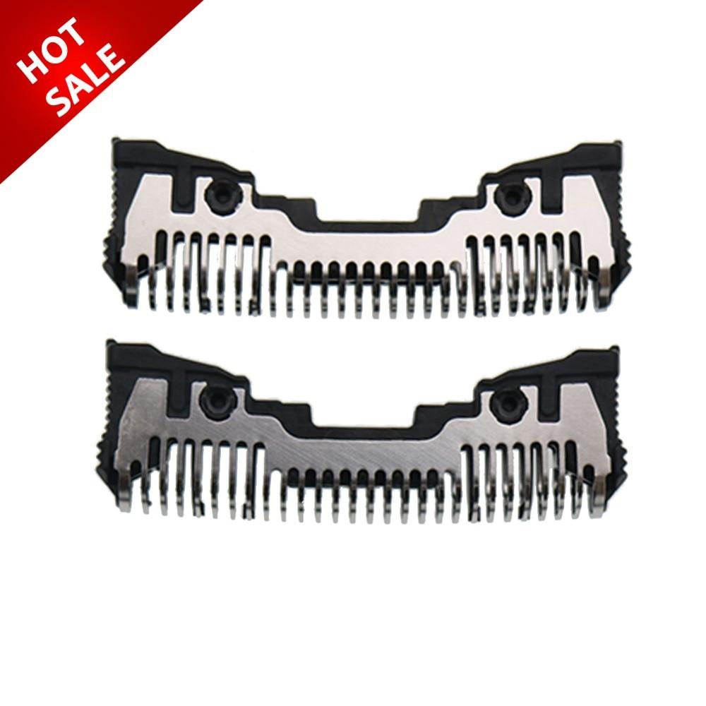 Cortador de cabezal de afeitado de 2 piezas para Panasonic WES9068 ES8103 ES8109 ES8103S ES-ST23 S8161 ES8101 ES-LC62 ES8249 ES-GA20 ES-GA21