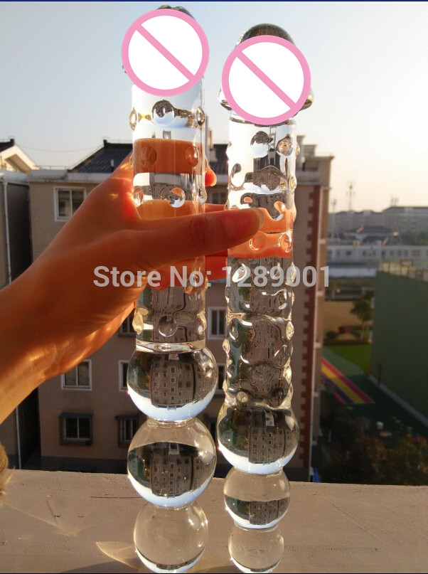 Really. extra large glass dildo
