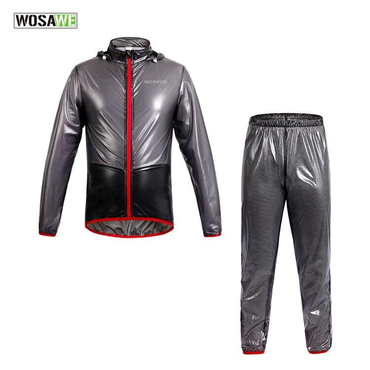 ФОТО WOSAWE Outdoor Riding MTB Bicycle Bike Cycling Raincoat Waterproof Windproof Outerwear Running Rain Jackets Cycling Clothing