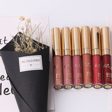 Liquid Matte Lipstick Easy To Wear Long-lasting Lip Gloss Waterproof 6Pcs/set