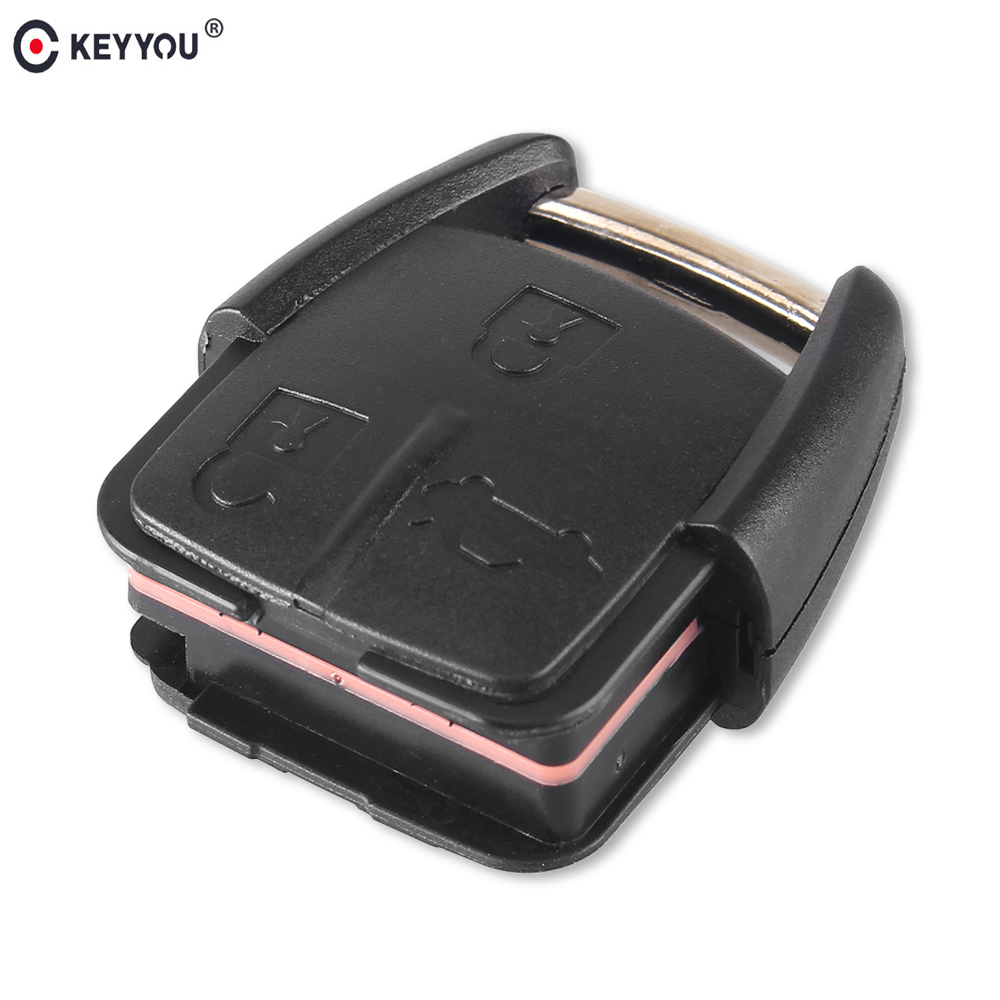 Chiave Telecomando per Chevrolet Key Shell Fob With Battery Holder