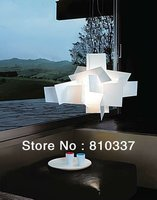 NEW Modern White/Red 65cm Big Bang Suspension Light Pendant Lamp bedroom dining room droplight fixture Chandelier free shipping
