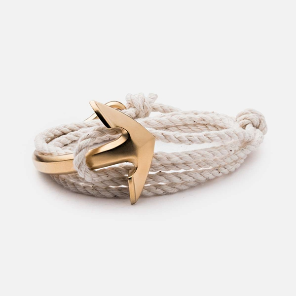 40adbe336b12 Handmade Summer sexy hand accessories set men cotton rope half cuff anchor  nautical bracelet for man-in Charm Bracelets from Jewelry   Accessories on  ...