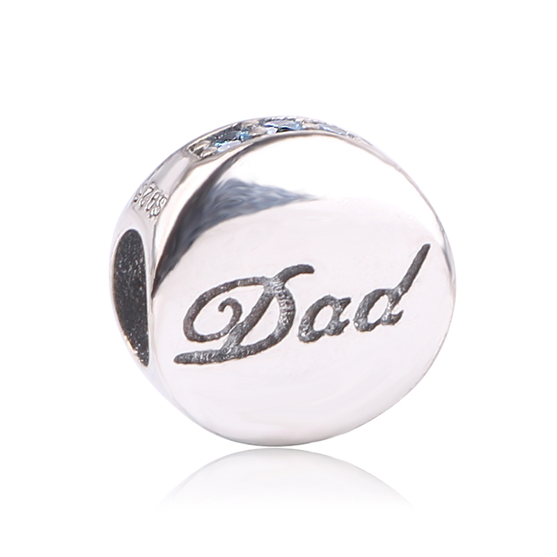 dodocharms Fashion DIY Beads for Dad Fit Pandora Charms Original Bracelet New Beads for Jewelry Making Women 925 Sterling Silver