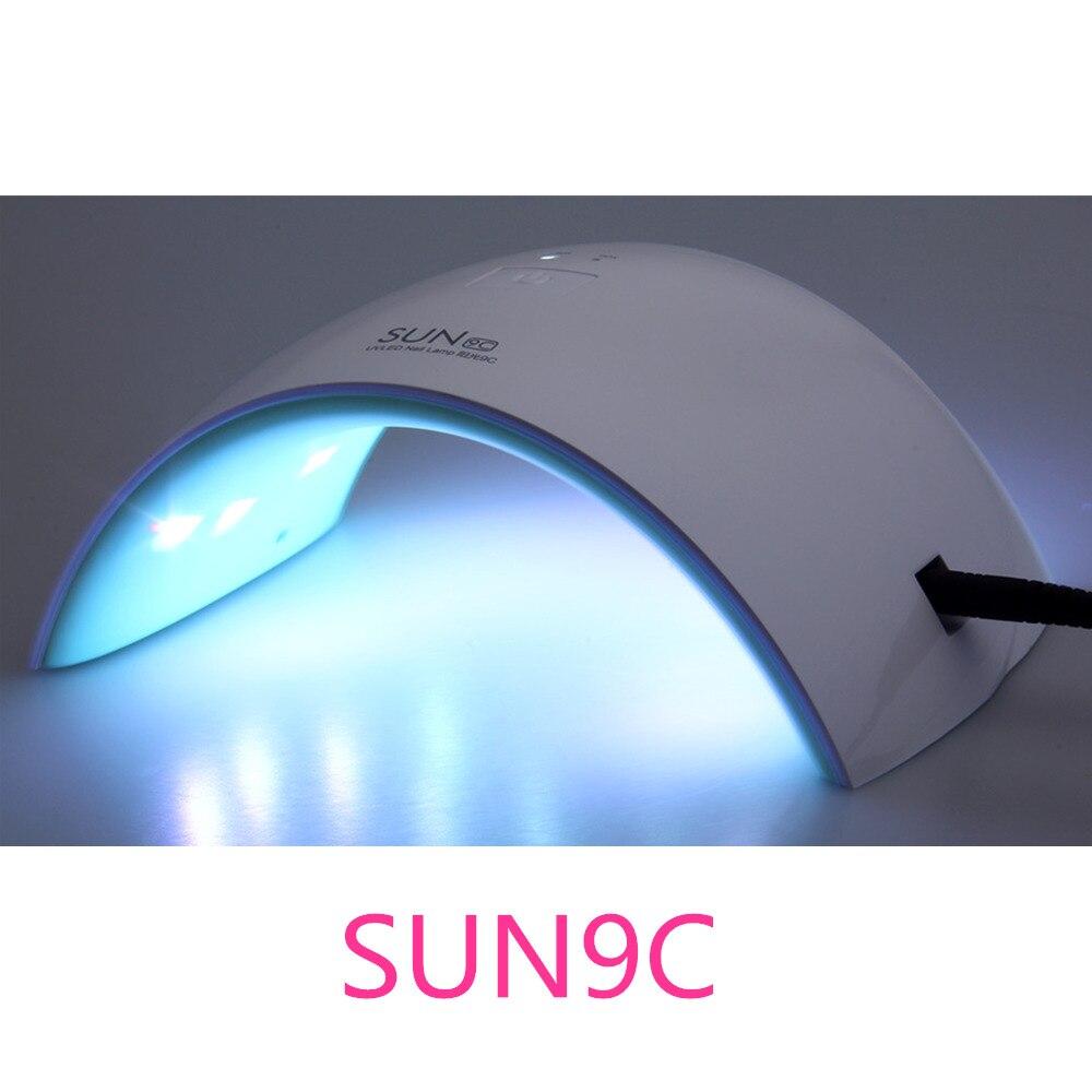 UVLED SUN9c SUN9s Nail Dryers 24W Professional UV LED Lamp Nail ...