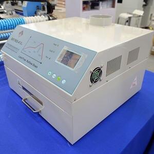 Image 4 - CHM 420リフロー炉、熱風 + 赤外線2500ワット、300*300ミリメートルbga smd smtリワークsation、220v
