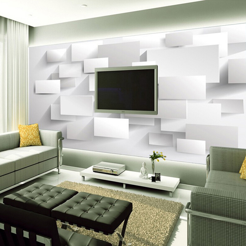 Modern wallpapers for living rooms for Wallpaper for large rooms