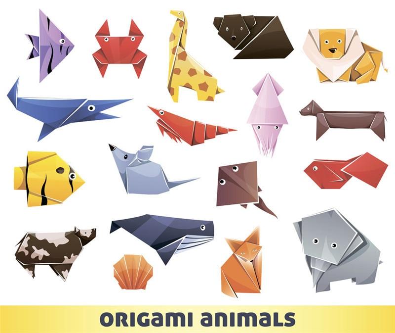 Origami Blaetter , Wholesale Preschool Children Handmade Origami Paper Mixed Color