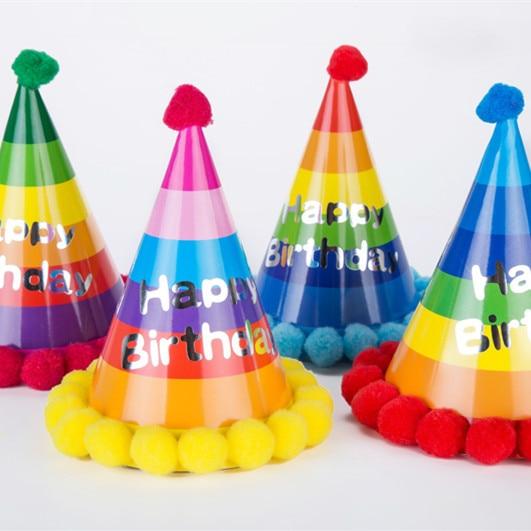nios fiesta de cumpleaos sombrero de mltiples colores muchachas de los bebs tapas de cumpleaos feliz with fiestas de cumpleaos nias