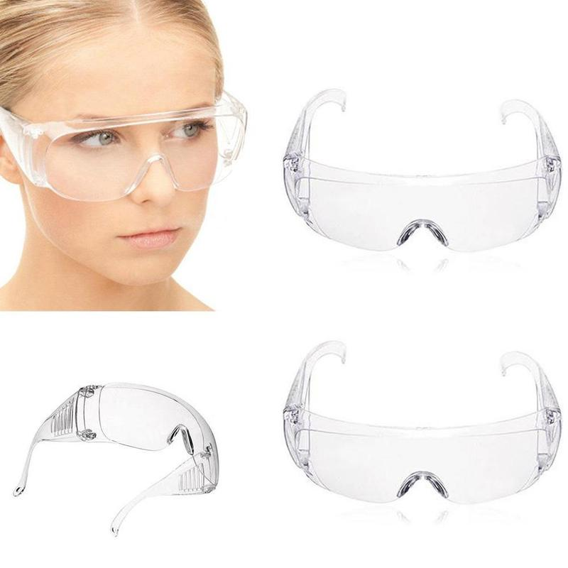 Anti-shock Laboratory Chemistry Labour Protection Goggles Clear Vented Safety Goggles Eye Protective Lab Anti Fog Glasses