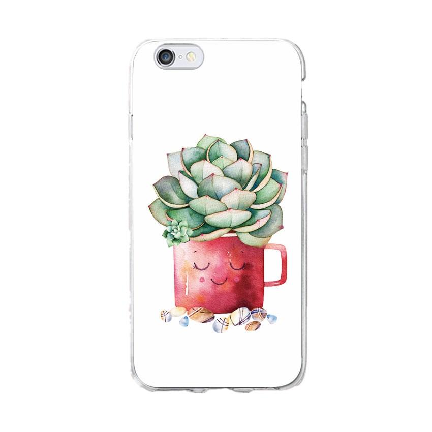 Cute-Succulent-Cactus-Plant-Fruit-Soft-Clear-Phone-Case-Coque-Fundas-For-iPhone-7-7Plus-6 (1)_