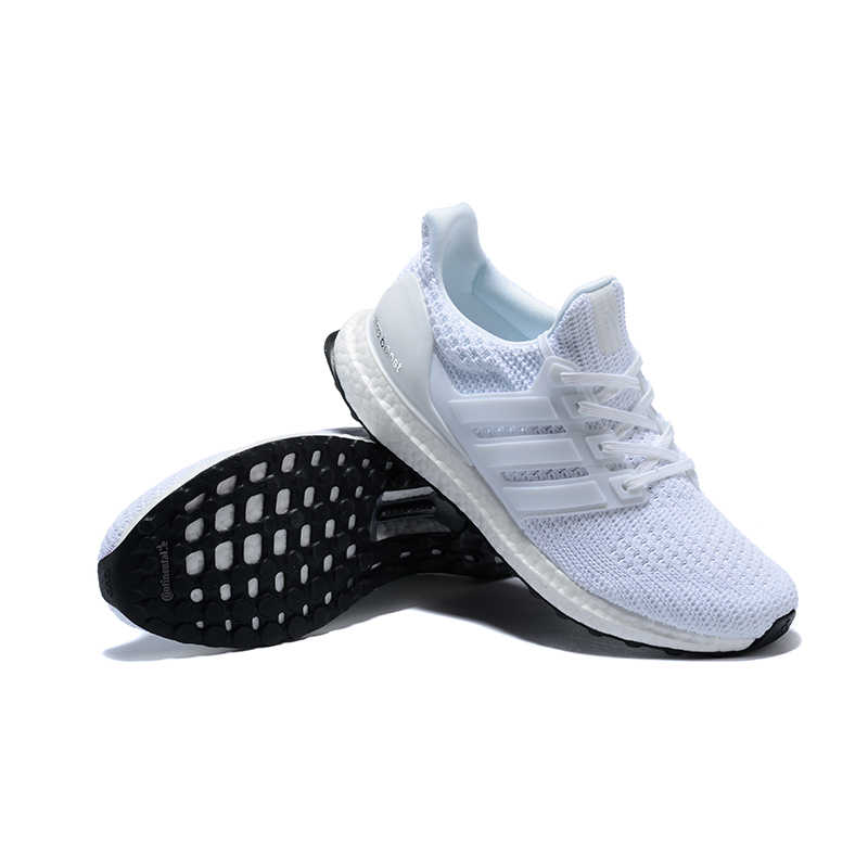 82ca77d023eea4 ... Official original Adidas Ultra Boost 4.0 UB 4.0 Popcorn Running Shoes  Sneakers Sports for Men white ...
