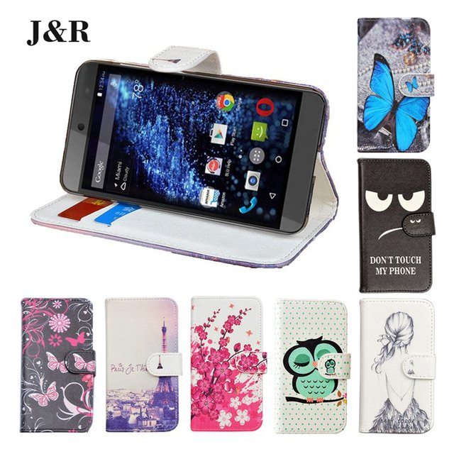 J&R Wallet Style Leather case for SONY Xperia ZL L35h C6503 C6502 Stand Design Back Cover with Card Slot SJ1918