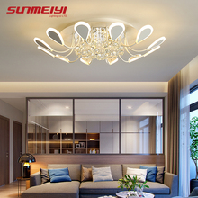 Luxury Creative LED Crystal Ceiling Lights Black Dining room Lamp Dimmable Ceiling Home Lighting For Living room Bedroom Cafe european style luxury 6 lights led chandelier crystal home ceiling fixture pendant lamp lighting dining room bedroom living room