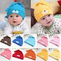 2017 Newborn Baby Infant Toddler Cute Bear Animal Hat Cotton Knotted Beanie Prop Cap
