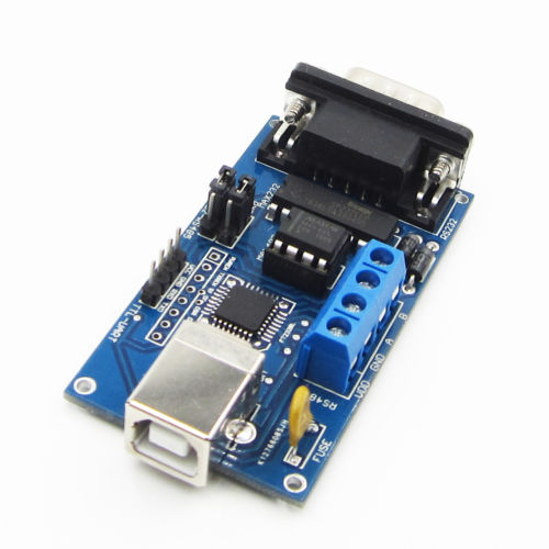 USB to Serial RS232/UART TTL/RS485 DB9 Adapter Converter Module FT232BM/BL