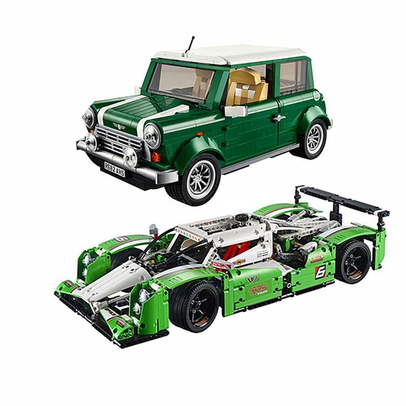 Technic Series  10242 Minicooper Car Building Blocks Bricks Children Model Gifts Toys