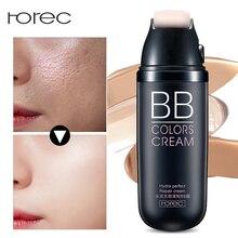 ROREC Foundation BB cream,Light,Moisturizer Face Cream Concealer Whitening Sun Block Perfect Cover Makeup Moisturizing Cosmetics