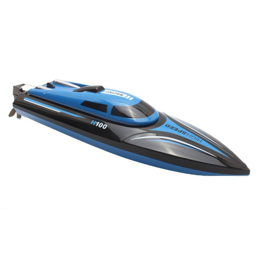 RC Boat  Skytech H100 2.4G 4CH Water Cooling High Speed RC Simulation Racing Boat Outdoor RC Racing Boat  for kids gift t227 aluminum water cool flange fits 26 29cc qj zenoah rcmk cy gas engine for rc boat