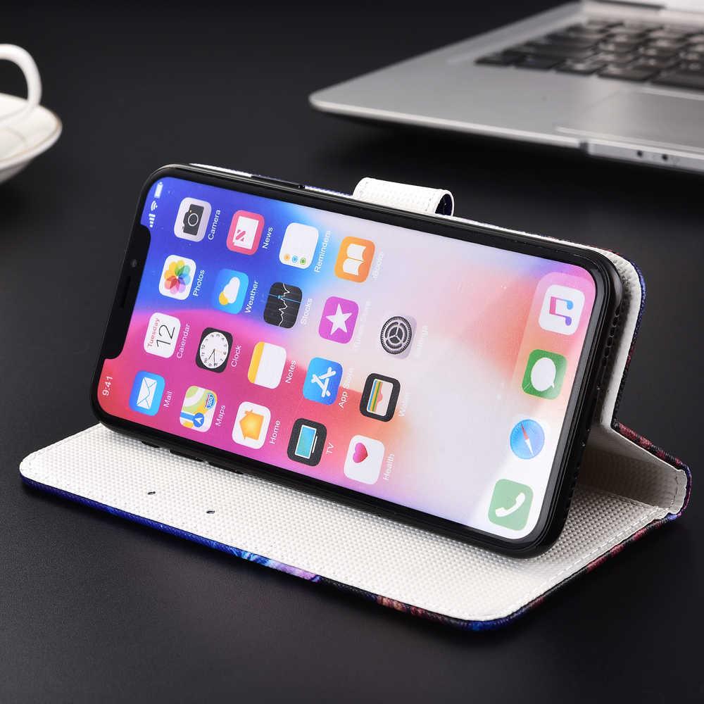 Для Huawei P9 Lite 2017 P9 Lite Mini P10 P20 P30 Lite чехол ТПУ чехол-бумажник из искусственной кожи чехол Y3 Y5 Y6 Pro 2017 2018 мягкий чехол для задней крышки