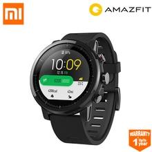 Huami Amazfit Stratos Смарт часы спортивные 2 2.5D экран gps 5ATM воды 1,34 »gps xiaomi Firstbeat Смарт-часы для плавания