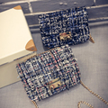 New Fashion  Weave Wen Women Bag Women Shoulder Bags Crossbody Bags Flap Small Mini  Bag