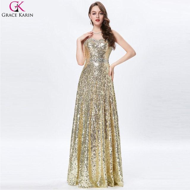 Online Shop Grace Karin Celebrity Dress Red Carpet Dress Strapless ...