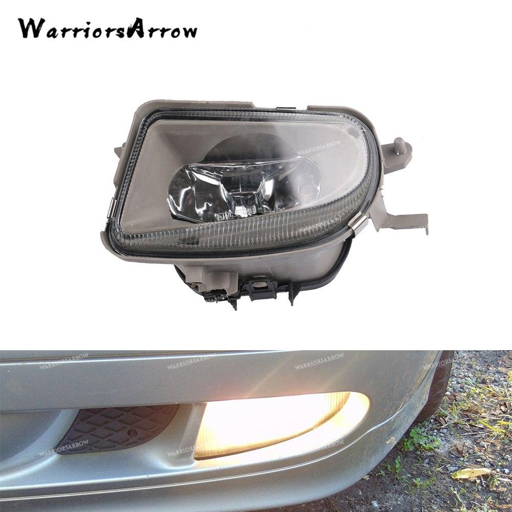 Front Left side Fog Light Chorme Trim Bumper Cover for Mercedes X164 GL320 GL350