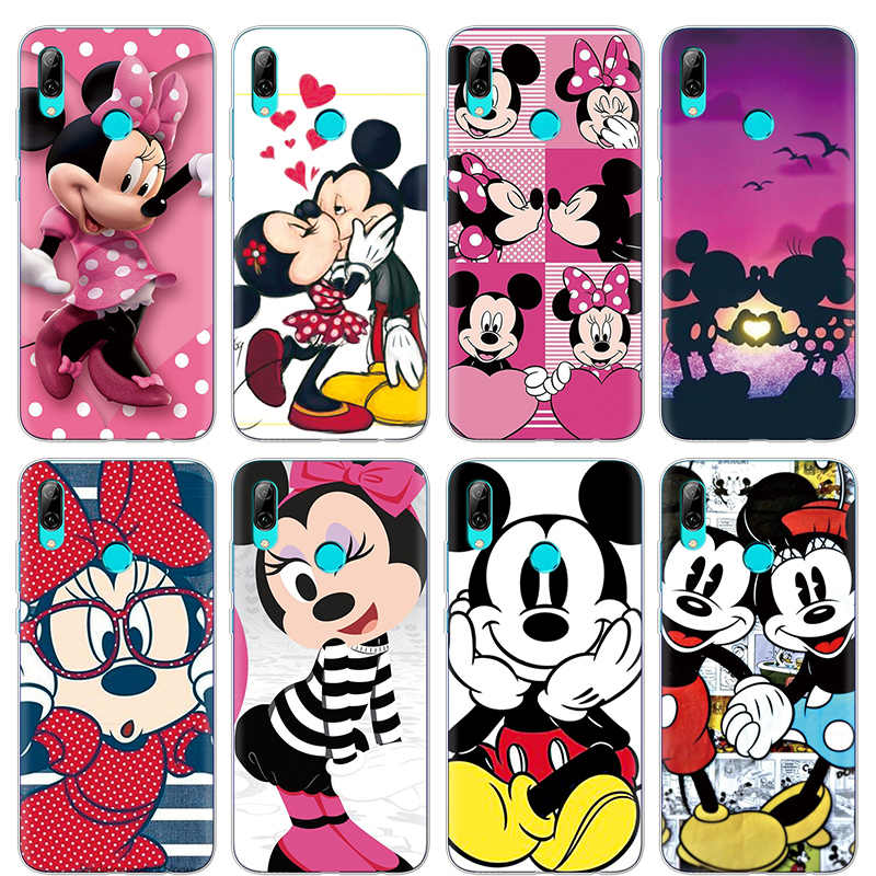 coque huawei p smart mickey