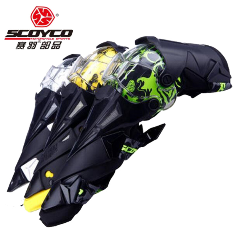 SCOYCO Moto genouillère équipement de Protection des genoux engrenages de Protection Protection librement Motocross gardes course Moto équipement sport