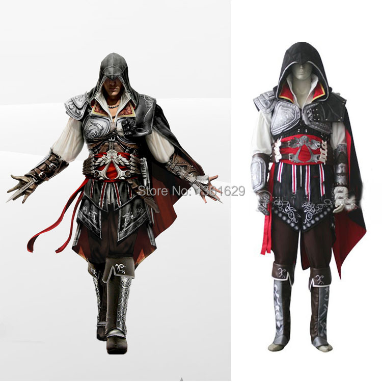 Good Quality Assassins Creed Cosplay Costume For Men Jacket