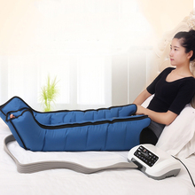 Air Compression Foot Massager Vibration Infrared Therapy Leg Massager Arm Waist Massage Air Wraps Relax Ankle Pain Relief beauty air pressure foot massage apparatus leg arms waist massager air compression body massage pressotherapy machine