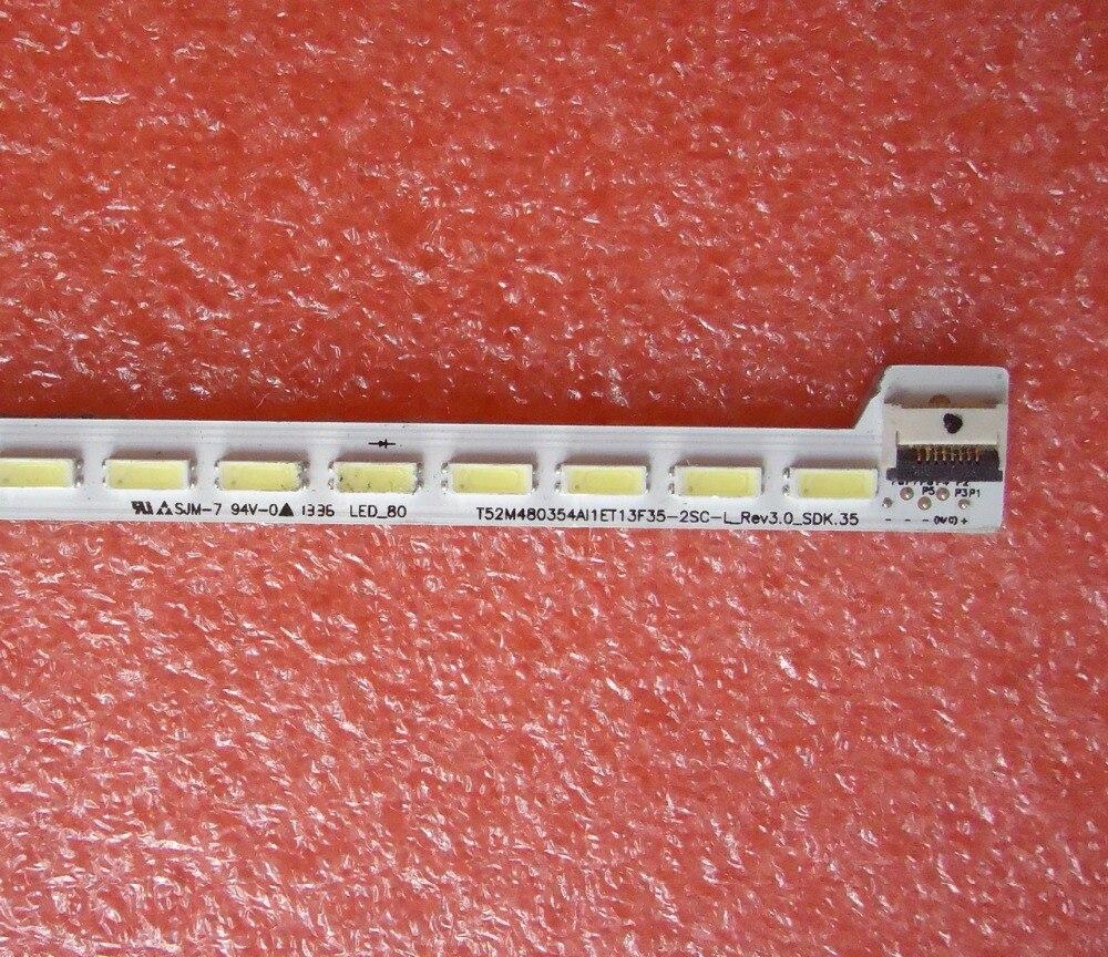 H48V9900 T52M480354AI1ET13F35-2SC-R  LVF480SE2L  LED Backlight   1pcs=84LED   607mm