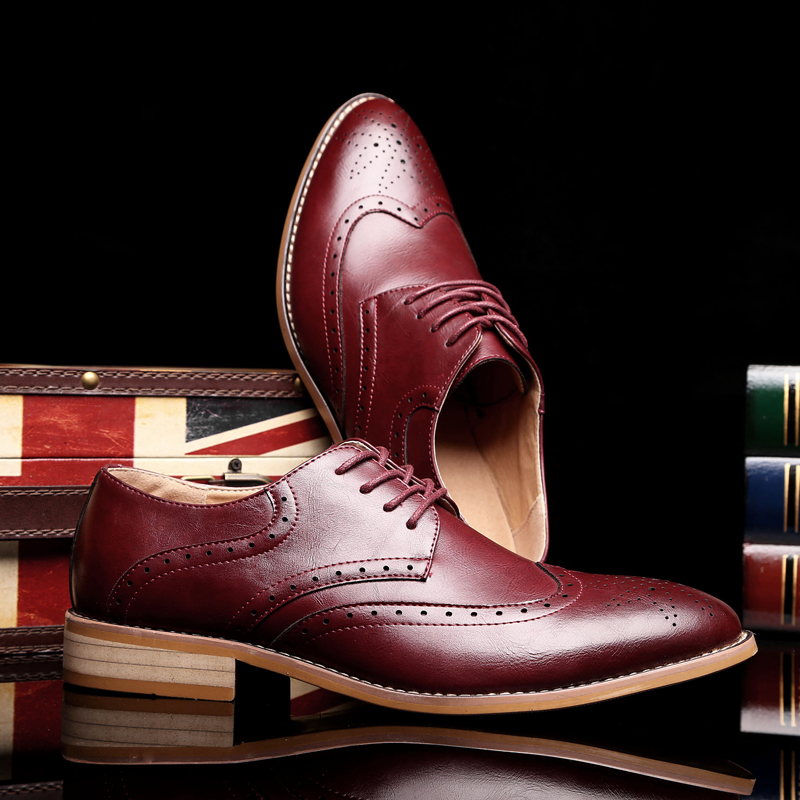 Chaussures Picture Shows as Oxford Vestir Sociale Italien Sapato Formelles Masculino Dentelle Shows up As Hombre Richelieu Formelle Kimozohe Zapatos Hommes Robe dCoxBtsrQh