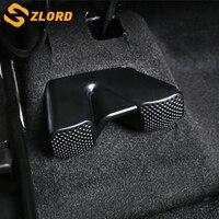 Zlord 2 pièces couverture de climatiseur de voiture pour Renault Koleos MK2 Kadjar pour Samsung QM6 sous le siège
