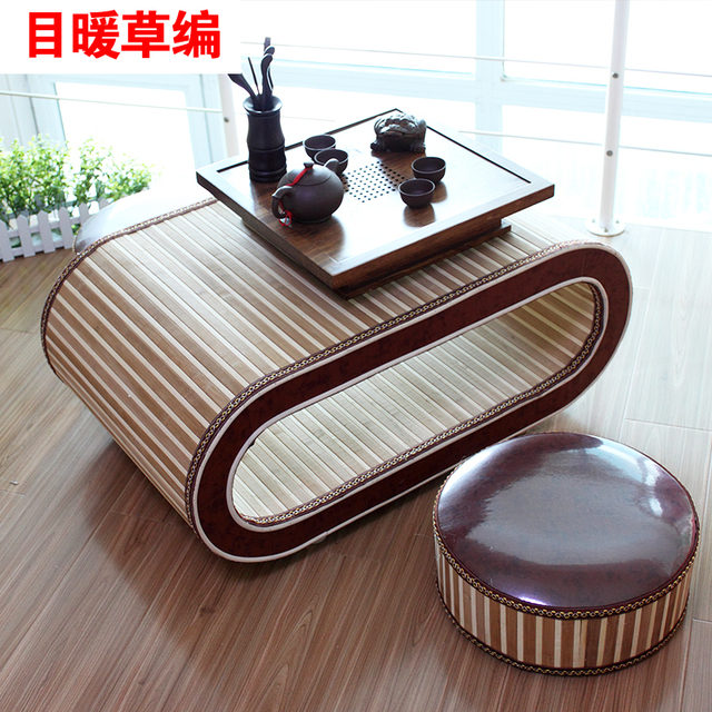 Head Warm Bamboo Wood Frame Stylish Simplicity Creative Coffee Table Small Coffee  Table IKEA Style Tea Table For Small Apartment
