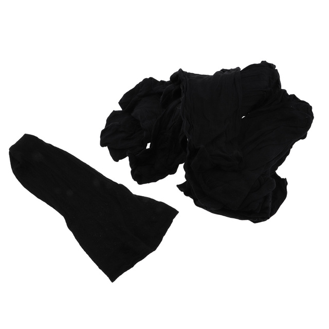 100Pcs Wholesale Breathable Black Spandex Dome Cap Mesh Hair Net for Making Wigs Snood Stretchy Wig Cap 6